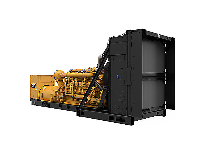 3516C Package Genset, Front Right