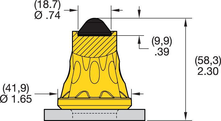 AK2-01 Road Milling Teeth
