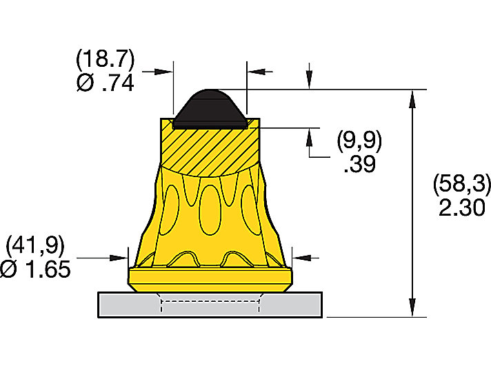 AK2-01 ROAD MILLING TEETH