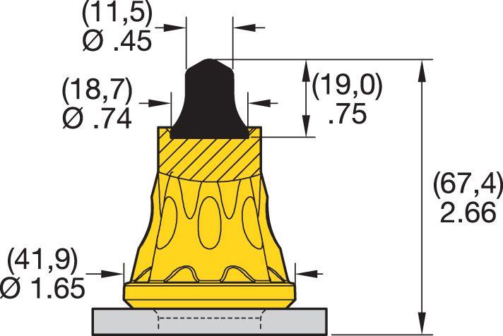 AK4-03 Road Milling Teeth