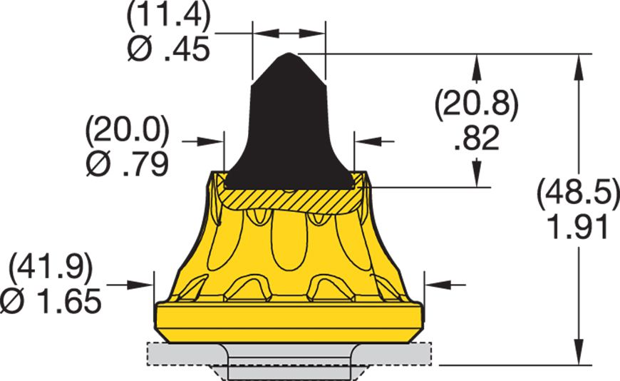 RK5-04 Road Milling Teeth