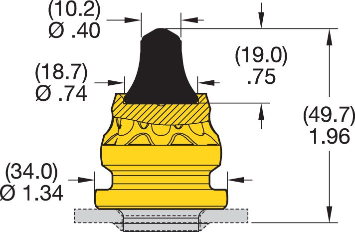 RK4-02P Road Milling Teeth