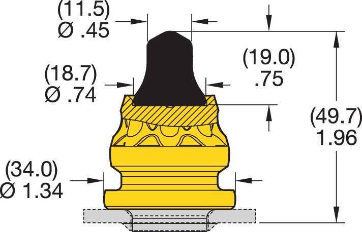 RK4-03P Road Milling Teeth