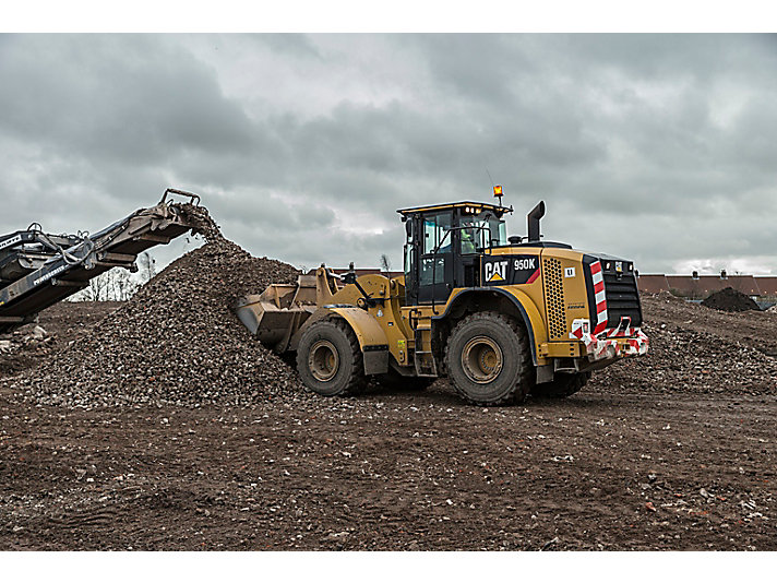 Cat 950k Wheel Loader, Newport, South Wales, Wales, UK