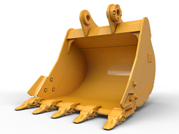 General Duty - Leveling Edge Bucket 1500 mm (59 in): 477-3382