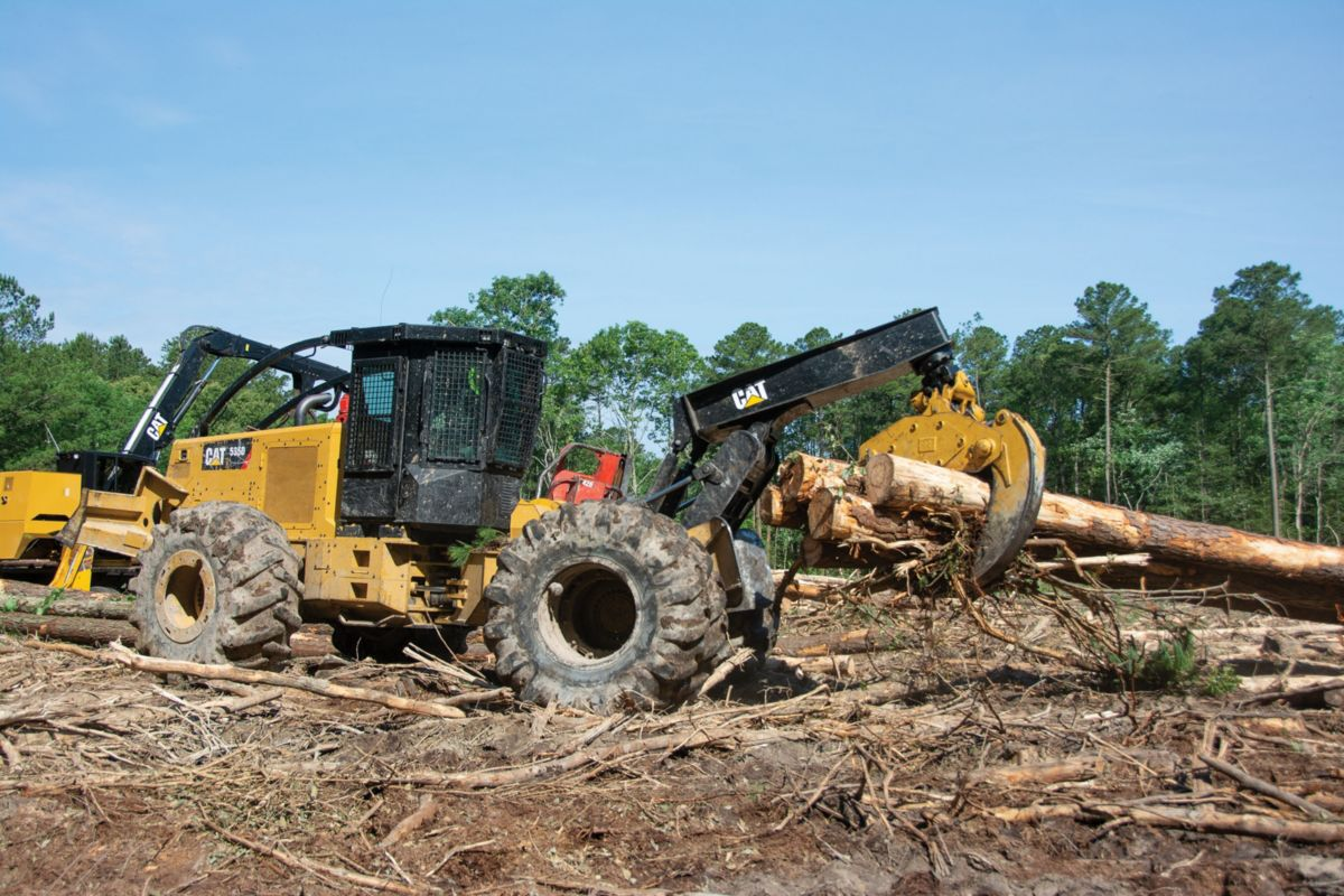 Positive attitude key to logger's success