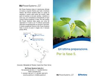BU PowerSystems Per la fase 5