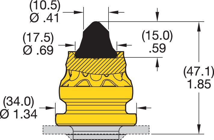 RK2-03P Road Milling Teeth
