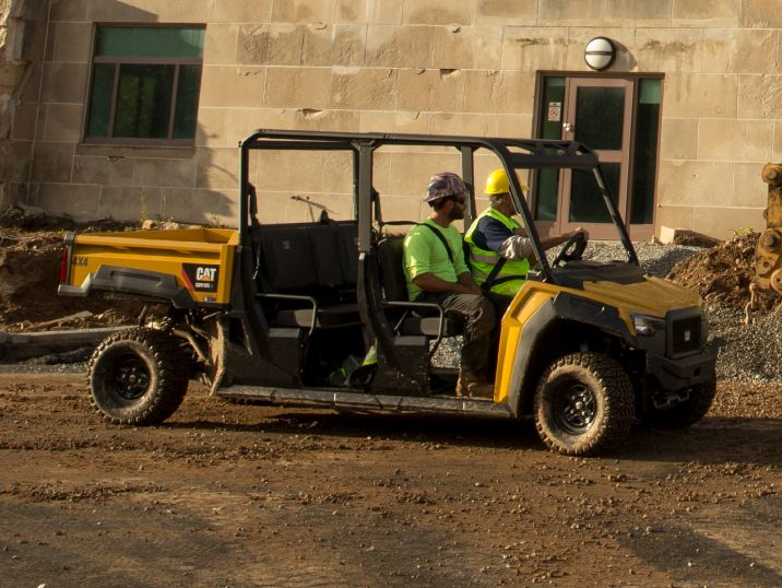 UTVs for Construction Sites