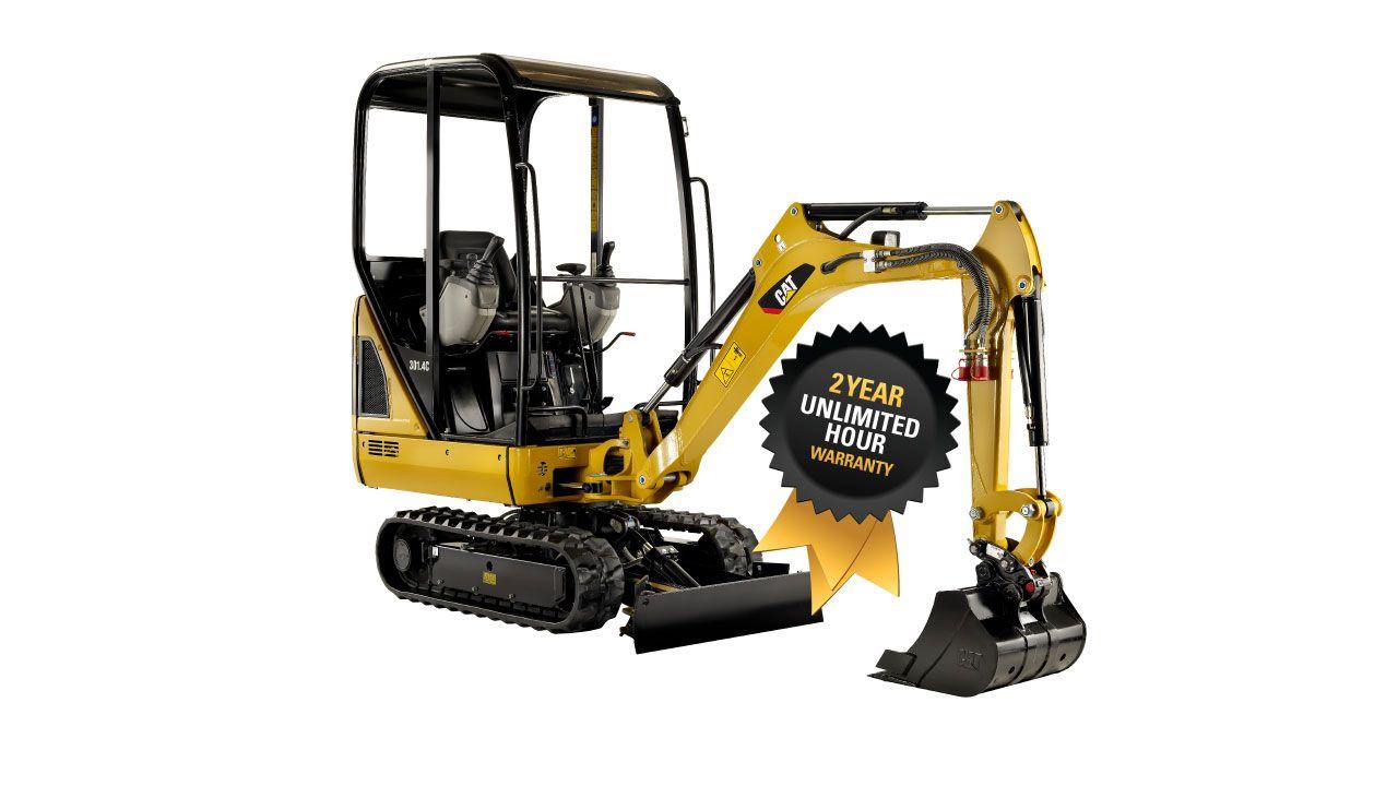301.4C CR Mini Excavator