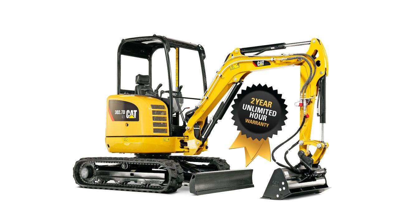302D CR Mini Excavator