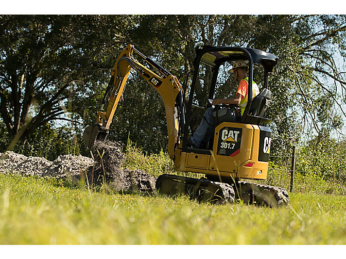 301.7 CR Mini Hydraulic Excavator