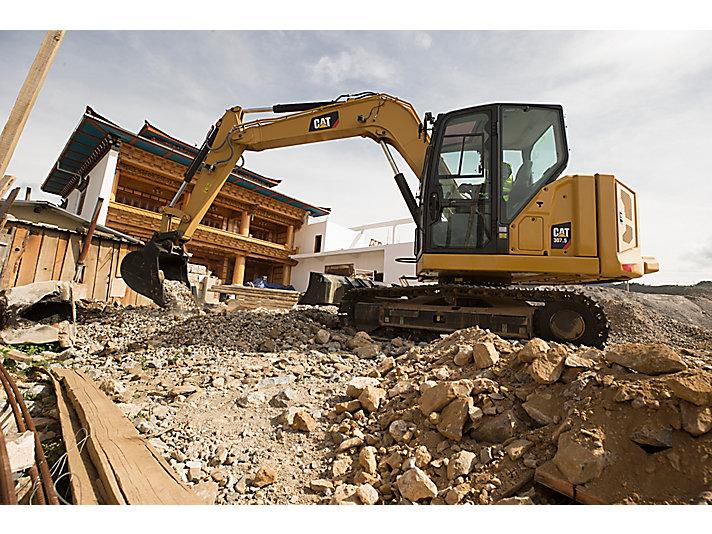 307.5 Mini Hydraulic Excavator