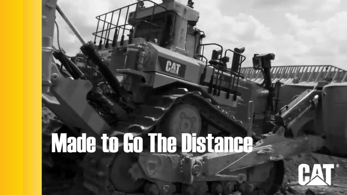Dozers - Invented by Caterpillar, Made to Go The Distance
