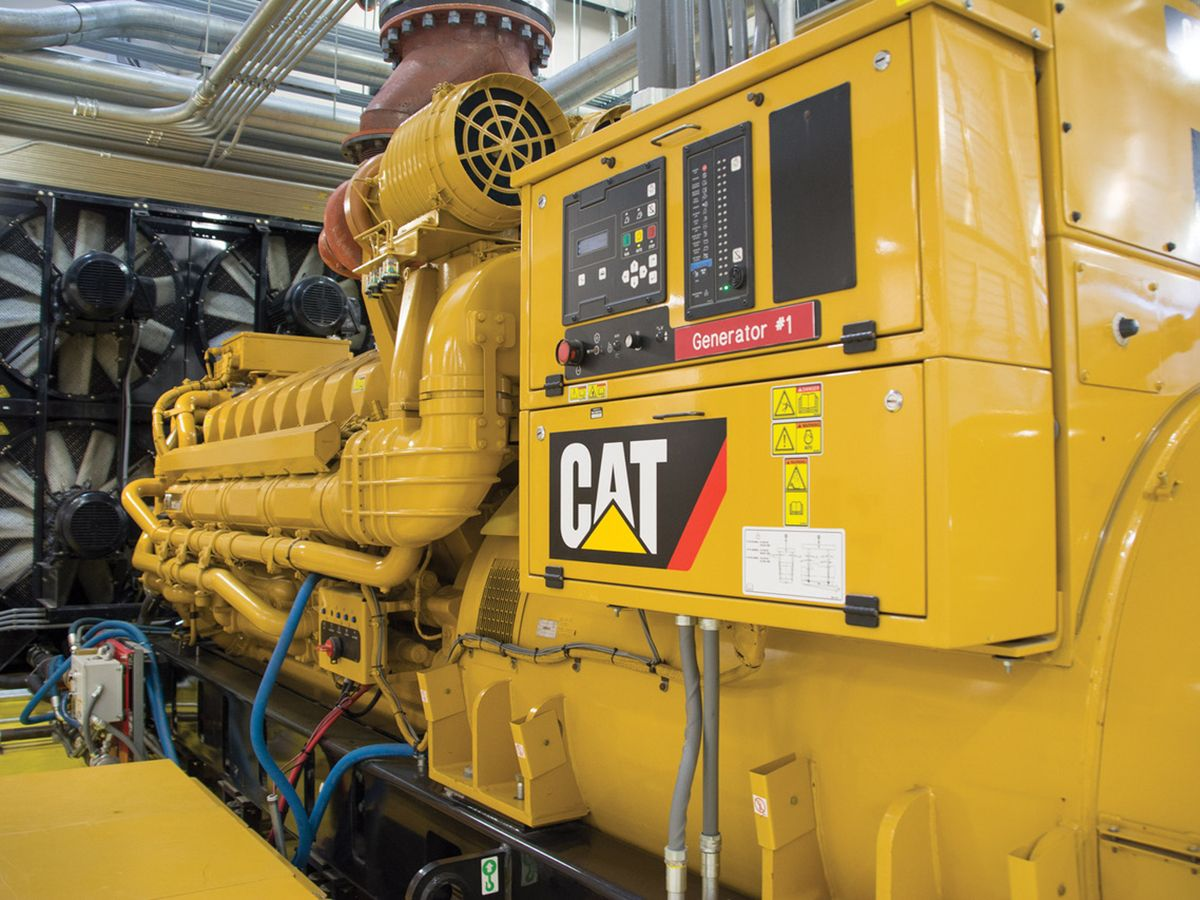 Cat® generator sets offer reliable standby power for Raleigh, NC healthcare system.