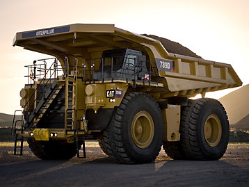 Cat 785G Truck