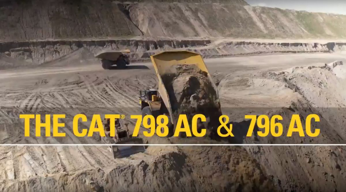Caterpillar Introduces Two New Ultra-Class Trucks: The Cat® 798 AC and 796 AC