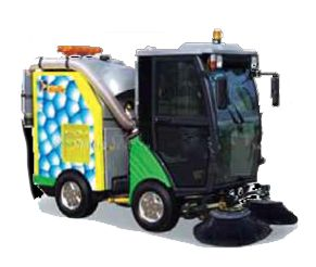 Haide - compact sweeper is streets ahead