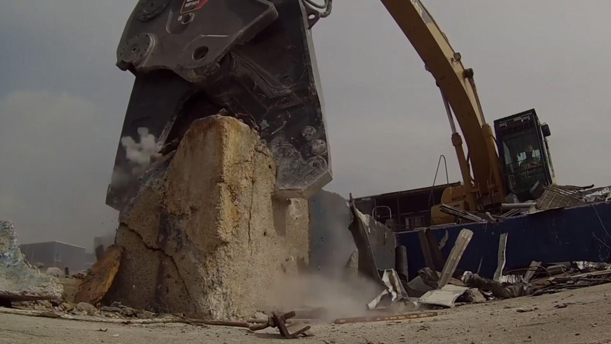 Concrete Cutting Jaw
