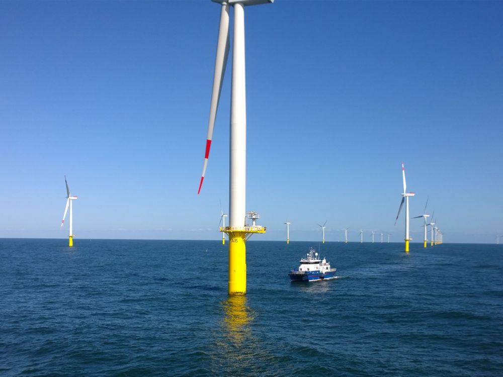 TECNOGEN S.p.A. and Perkins make power a breeze for offshore wind farm