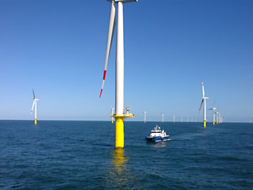 TECNOGEN S.p.A. making power a breeze for Merkur Offshore wind farm