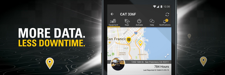 App, Cat App, Fleet Management, Product Link, Telematics