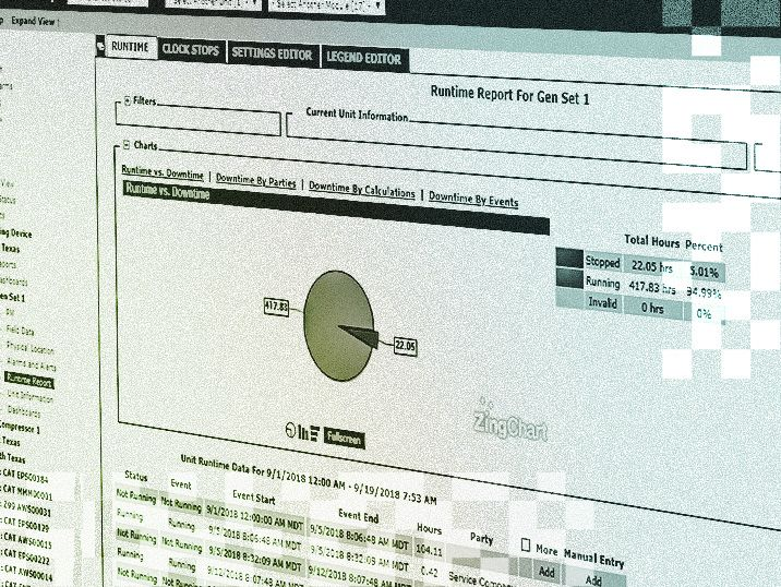 remote fleet vision runtime reports