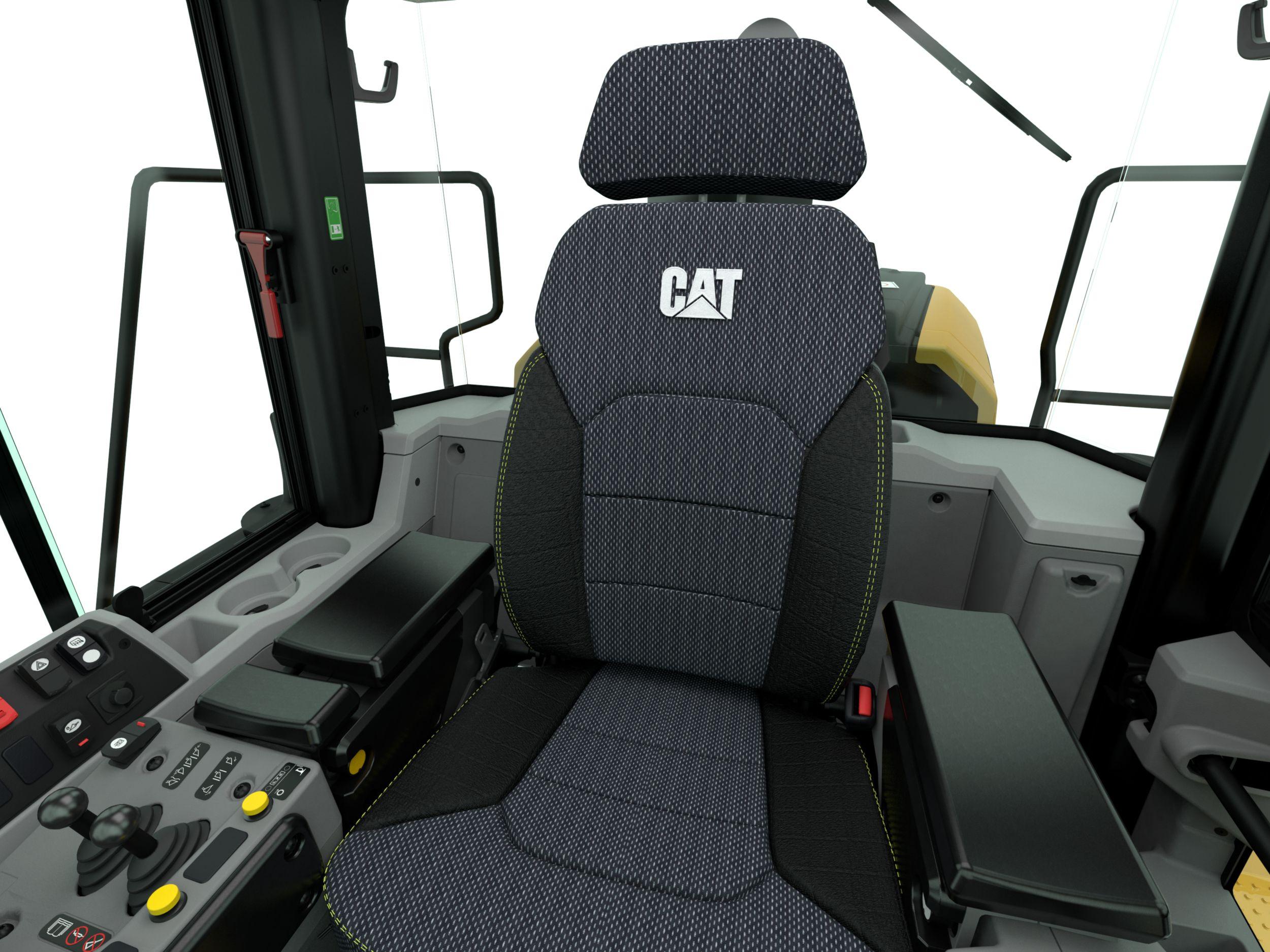 Cat M Series 2019 update, new seat