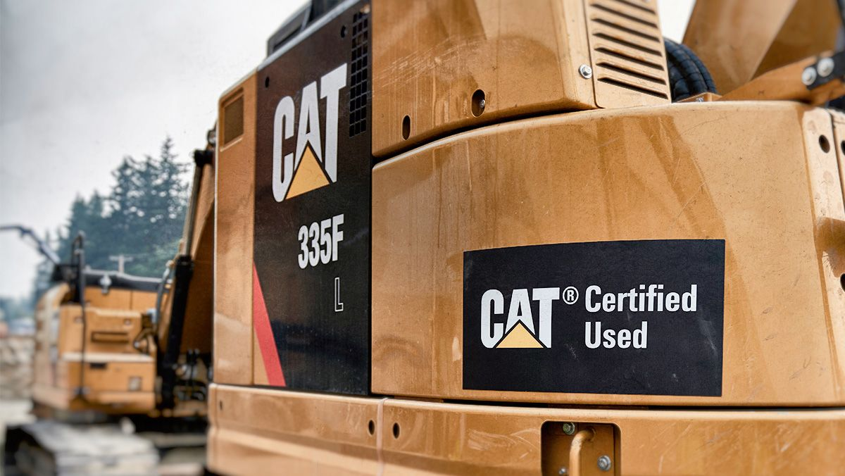 Cat Used Equipment and machines