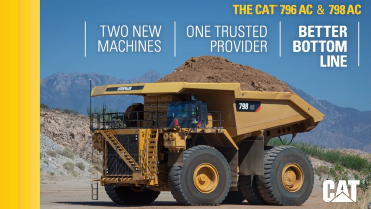 Cat® 798 AC & 796 AC Mining Haul Trucks: Better Bottom Line