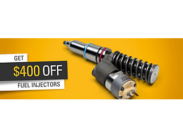 Fuel injector offer