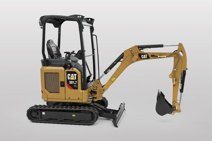 301.7 CR Mini Excavator