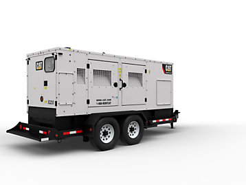 Cat® XQ230 mobile diesel generator set