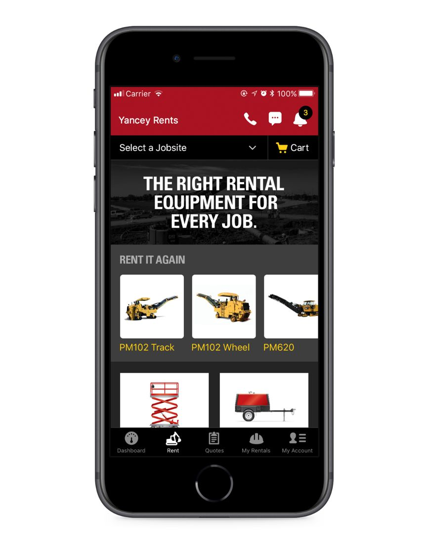 Cat Rental Store iPhone app