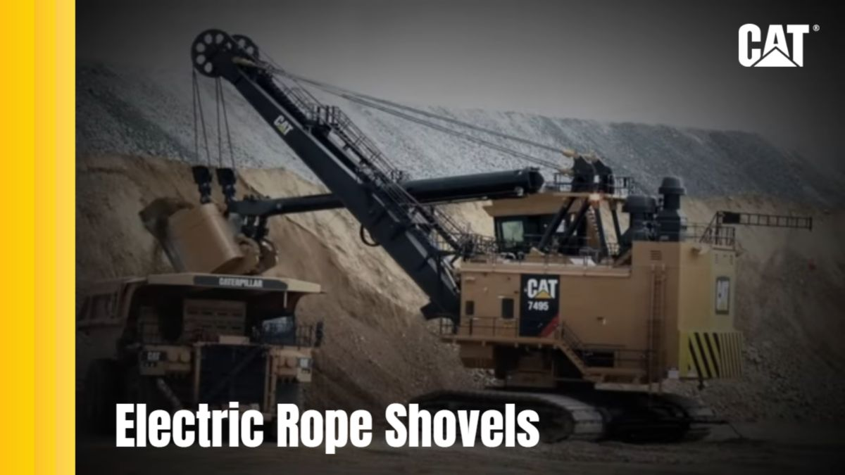 Cat® Electrict Rope Shovels