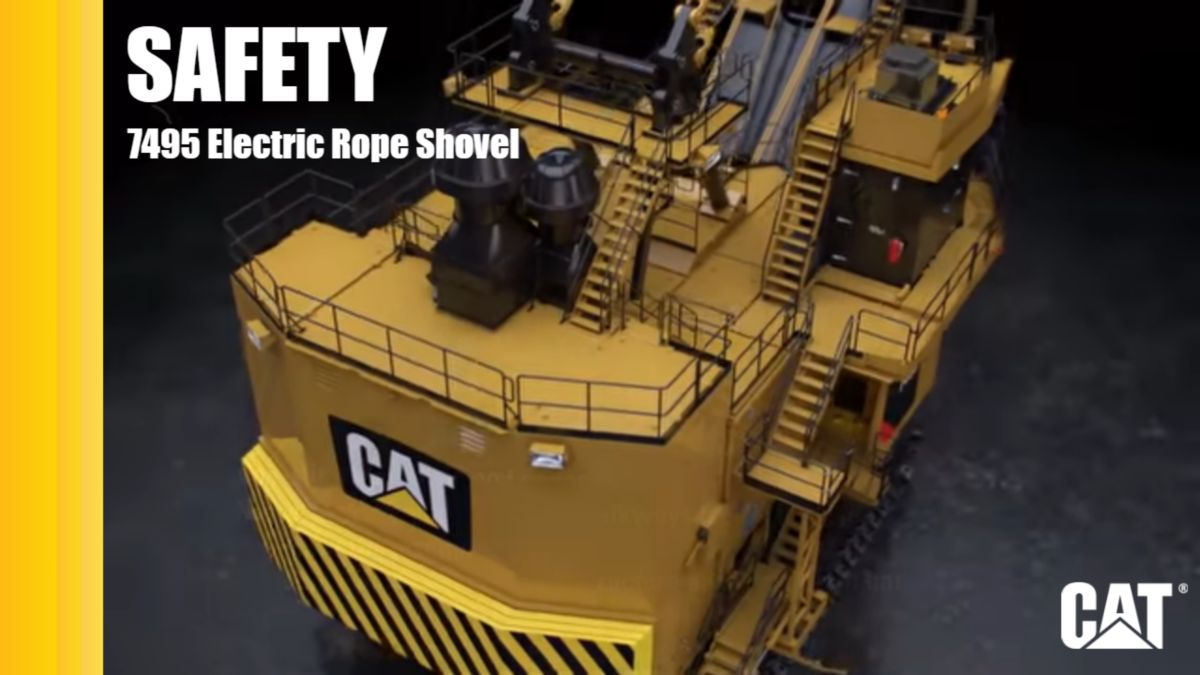 Cat® 7495 Safety