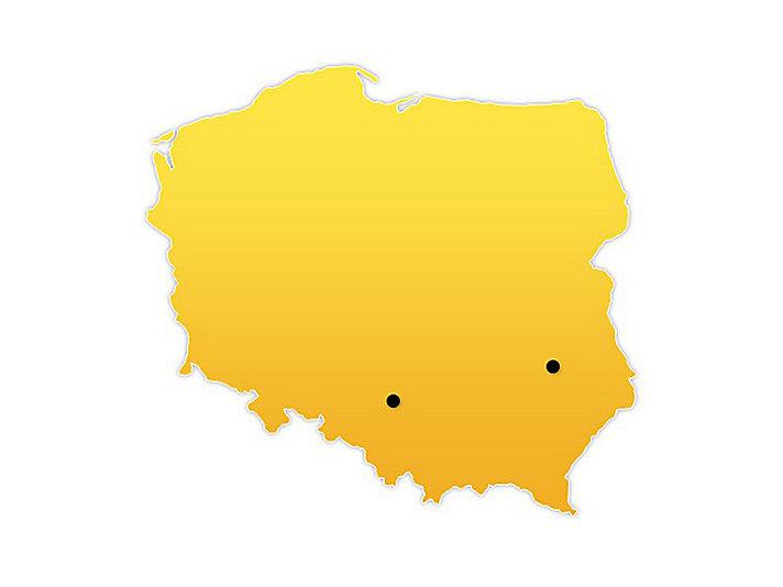 Poland Location Map