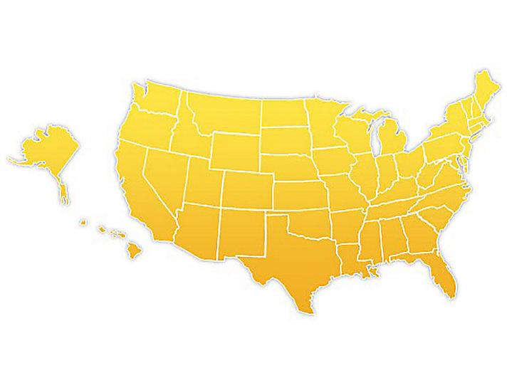US Location Map