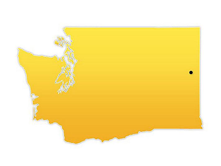 Washington Location Map