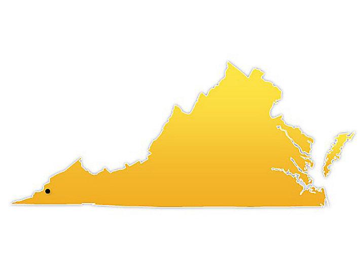 Virginia Location Map
