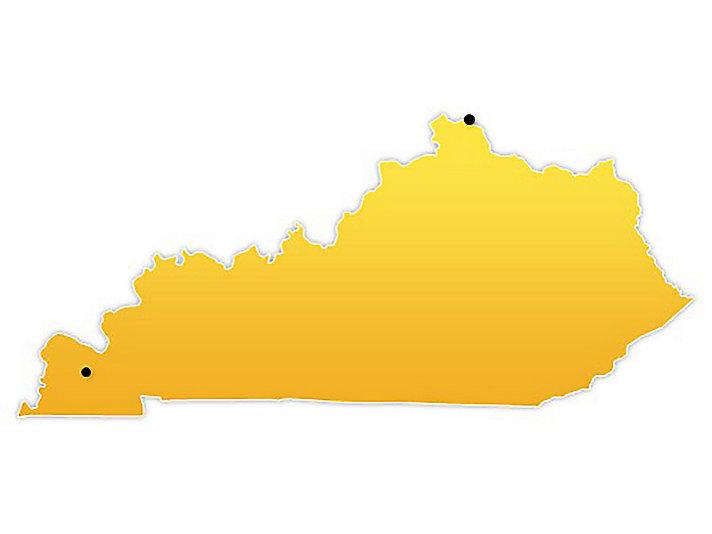 Kentucky Location Map