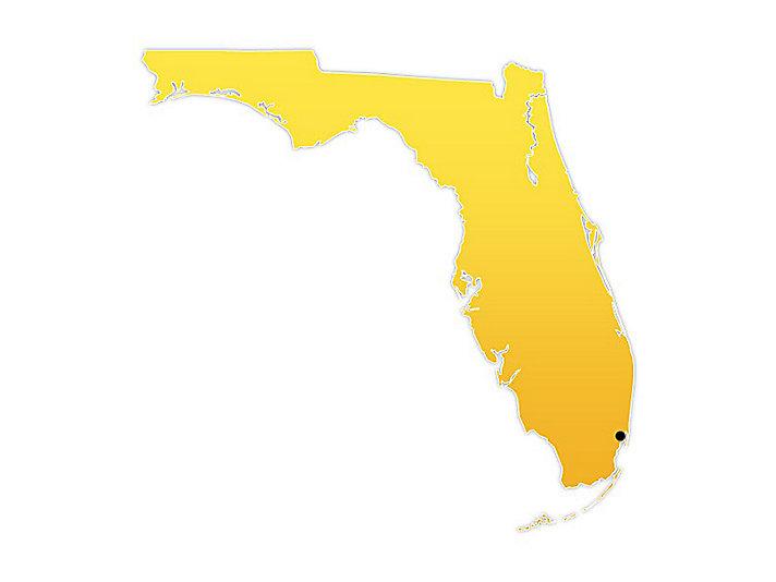 Florida Location Map