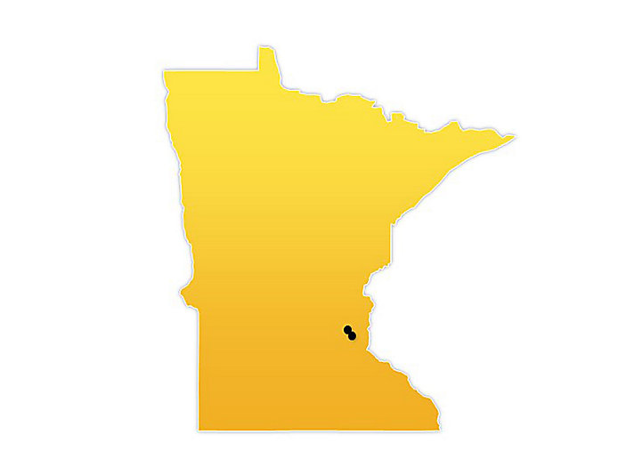 Minnesota Location Map