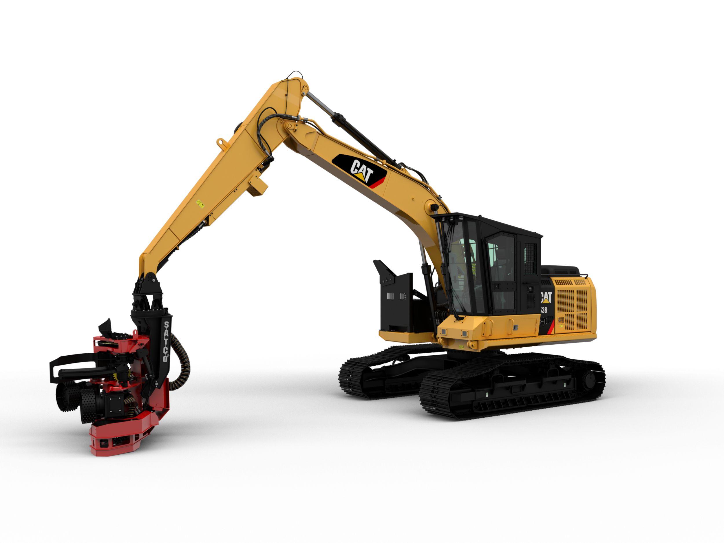 538/538 LL Forest Machine