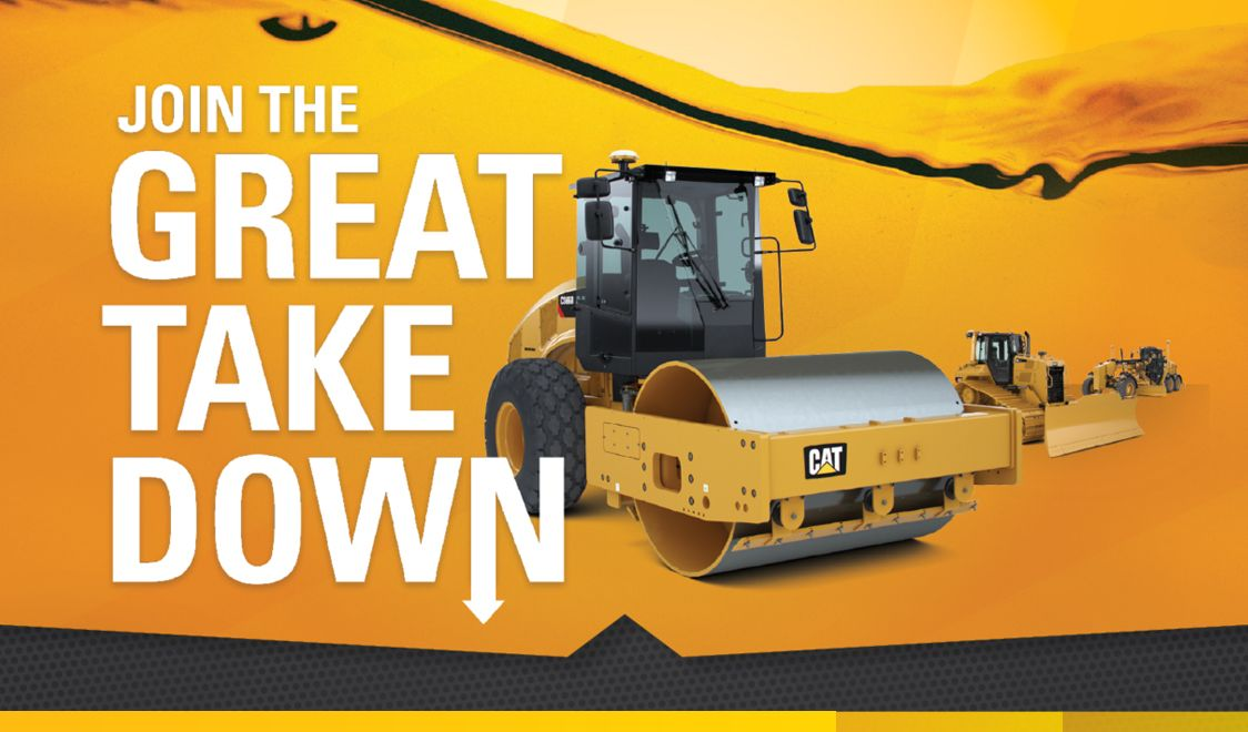Financing for 48 months on Cat vibratory soil compactors, dozers and more.
