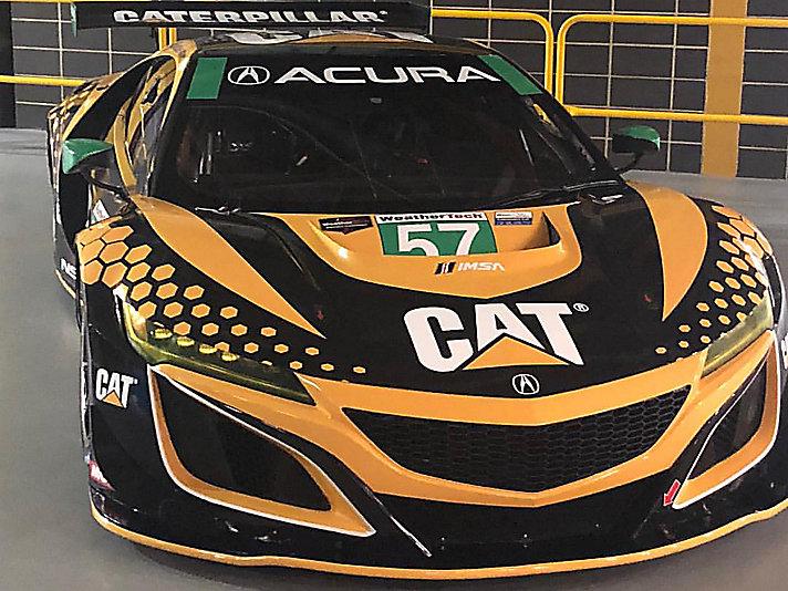 Cat racecar