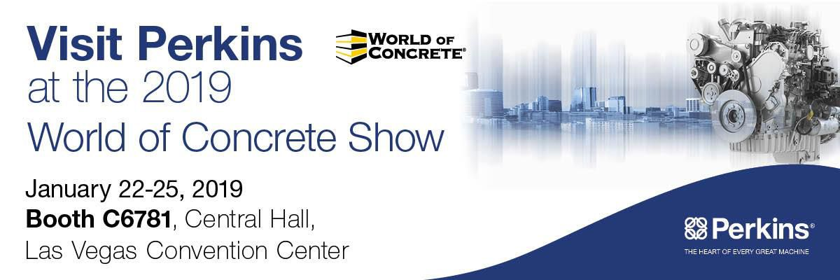 Perkins Engines at World of Concrete 2019
