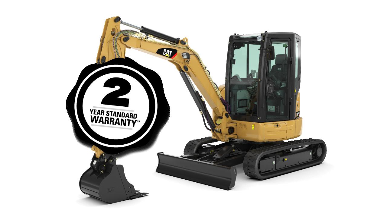 Cat 303.5E2 CR Mini Excavator