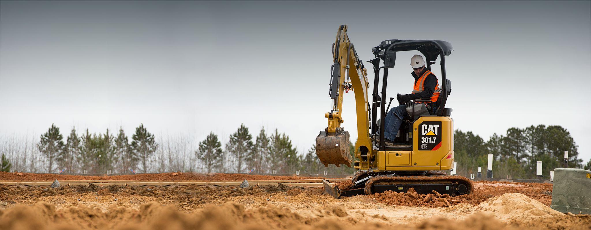 Cat Mini Excavator 301.7