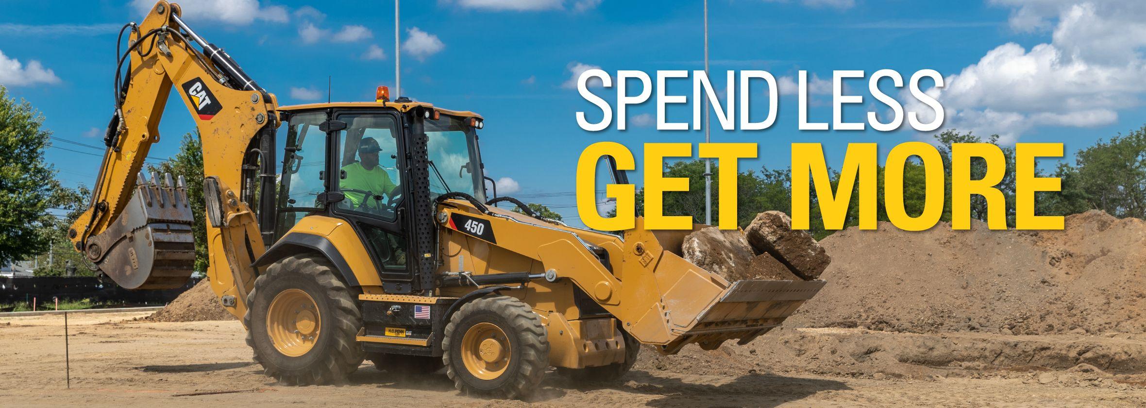 Backhoe Loader - Special Offer - Spend Less. Get More.